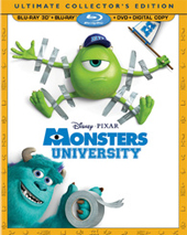 Monsters University: 3D BD Review